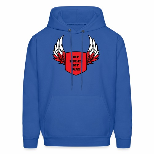 MY RULES MY WAY - Men's Hoodie