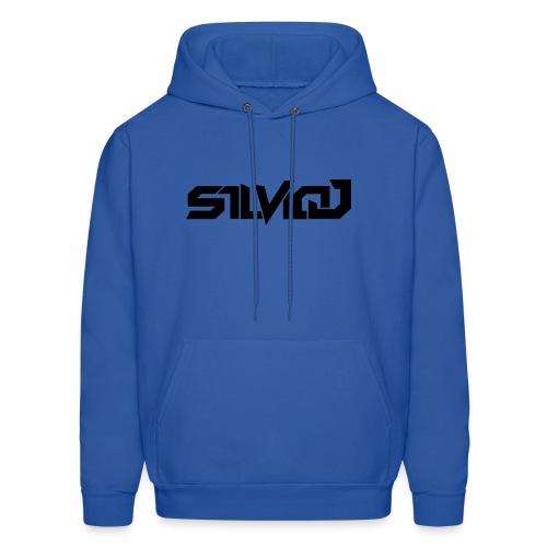 SilvioJ Text Logo Black - Men's Hoodie