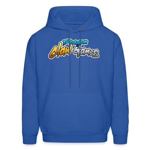 Dragon Claw Games - Text Logo - Men's Hoodie