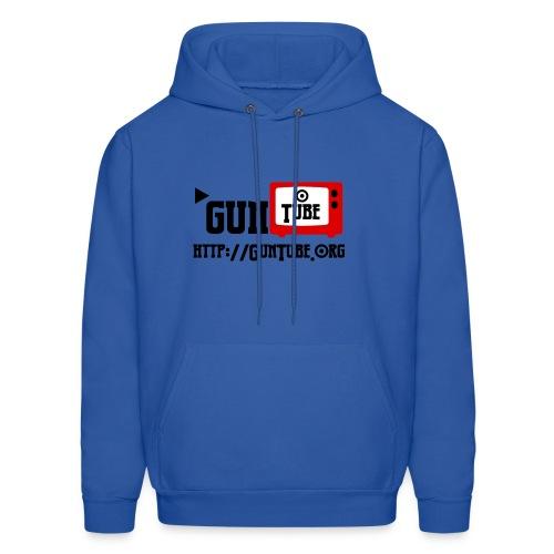 GunTube Shirt with URL - Men's Hoodie