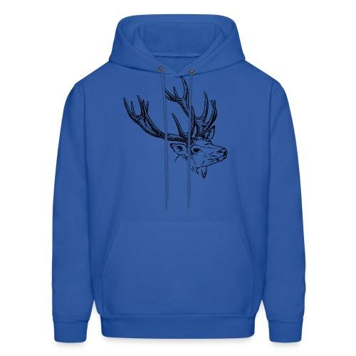 Reindeer - Men's Hoodie