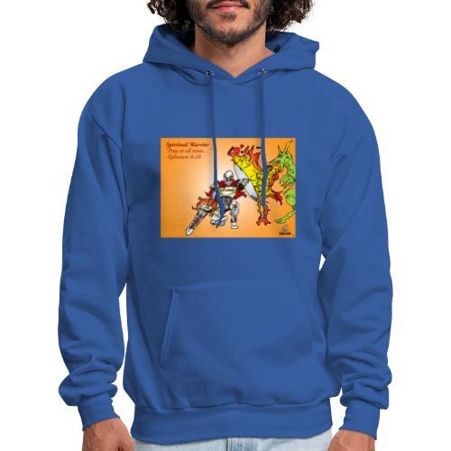 Spiritual Warrior by Faith T-Shirt Pray times - Men's Hoodie