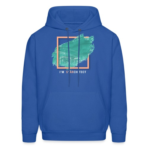 I m Starchitect T-shirt, for ambitious architects - Men's Hoodie