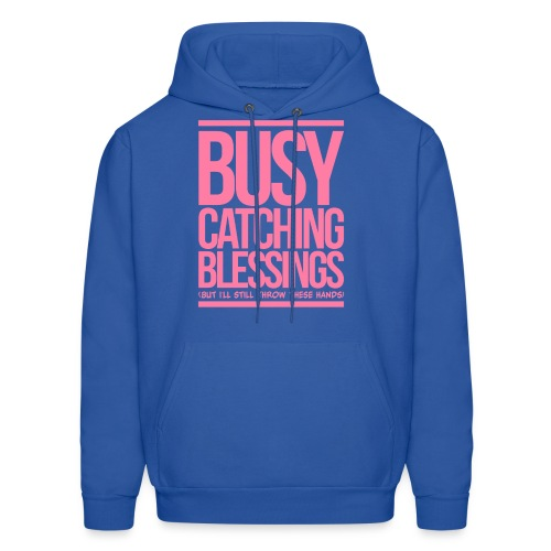 Busy Catching Blessings - Men's Hoodie