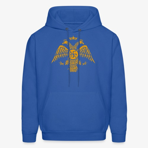 Byzantine Eagle Symbol Flag - Men's Hoodie