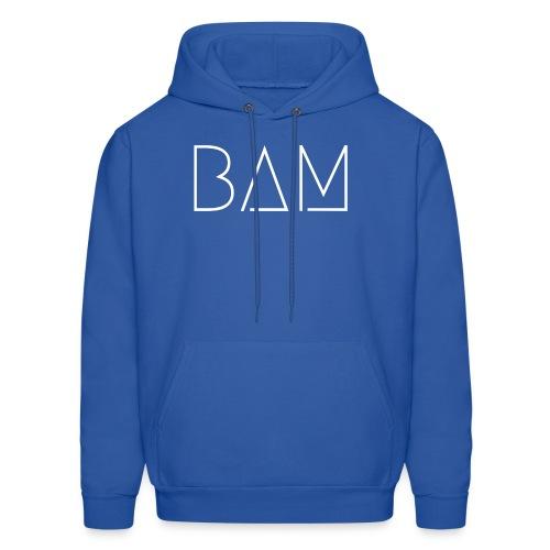 BAM - White - Men's Hoodie