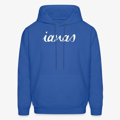 IANAS White - Men's Hoodie