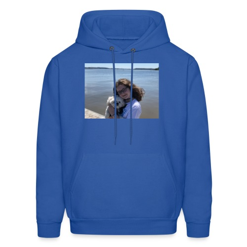 Cute Merch With Dog And Girl - Men's Hoodie