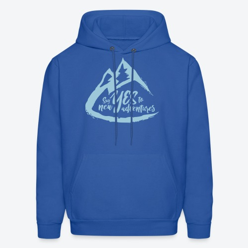 Say Yes to Adventure - Coloured - Men's Hoodie