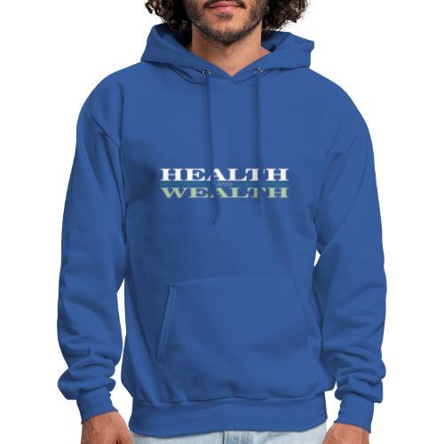 Health Wealth - Men's Hoodie