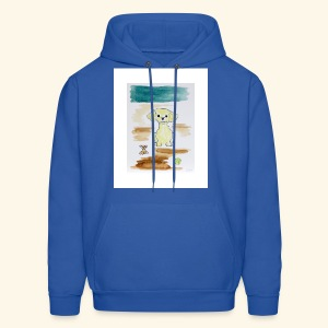 Traver and His Dog - Men's Hoodie