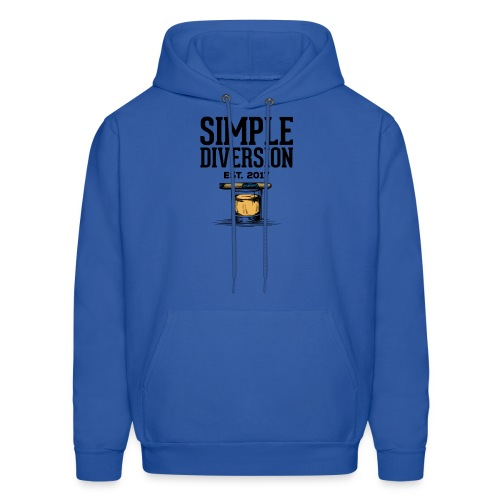 SD Text Logo - Men's Hoodie