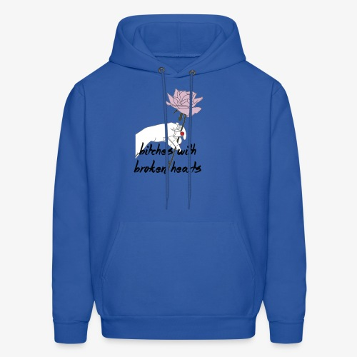 bitches broken hearts - Men's Hoodie