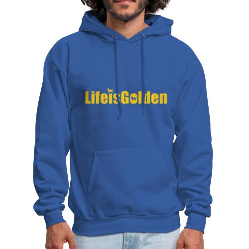 Life Is Golden official - Men's Hoodie
