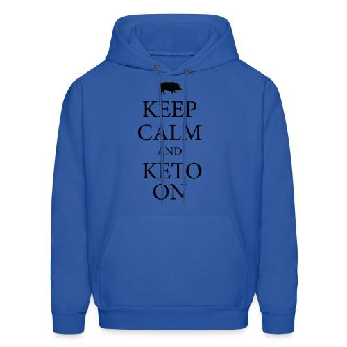 Keto keep calm2 - Men's Hoodie