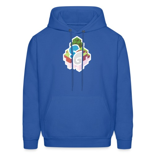 SkyGames Logo MODERN - Men's Hoodie