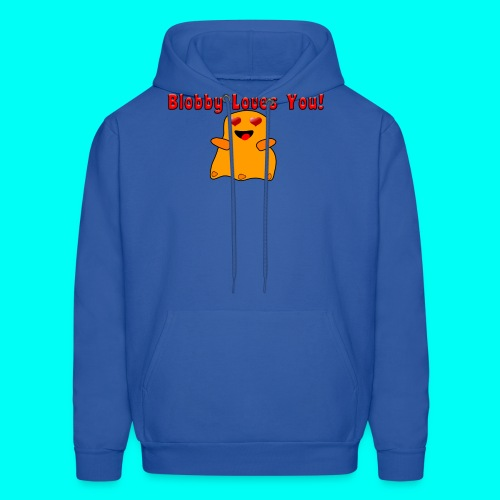 Blobby Loves You Shirt - Men's Hoodie