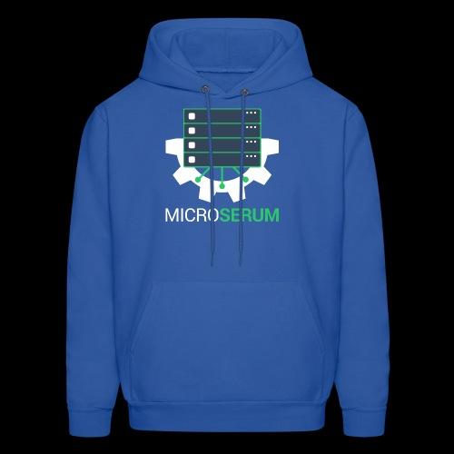 microserum-2 - Molleton à capuche pour hommes