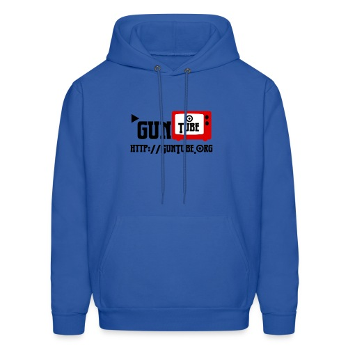 GunTube Shirt with URL - Men's Hoodie