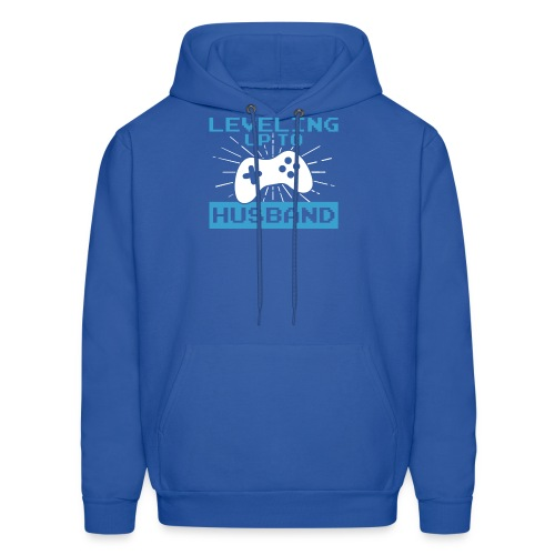 Funny Leveling Up To Husband T-Shirt - Men's Hoodie