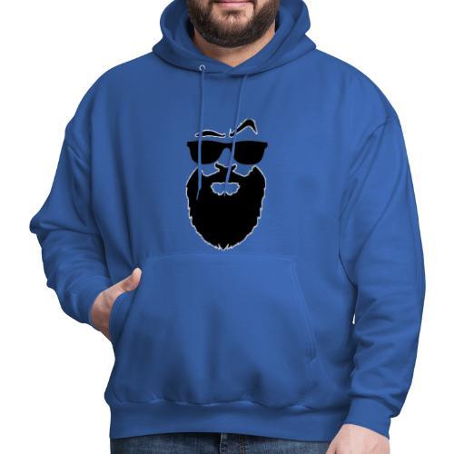 Men's shirt with scarves - Men's Hoodie