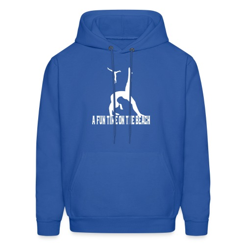 beach t-shirt A fun time on the beach t-shirt - Men's Hoodie
