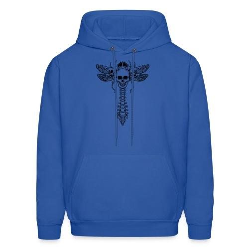 dragonfly skull - Men's Hoodie