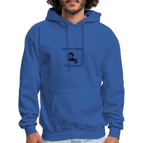 MizTech/Repair Tech Support Logo - Men's Hoodie