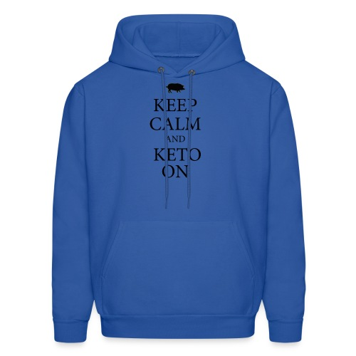 Keto keep calm2 - Men's Hoodie