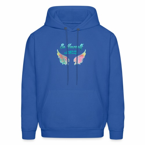 be yourself, an original is better than a copy - Men's Hoodie
