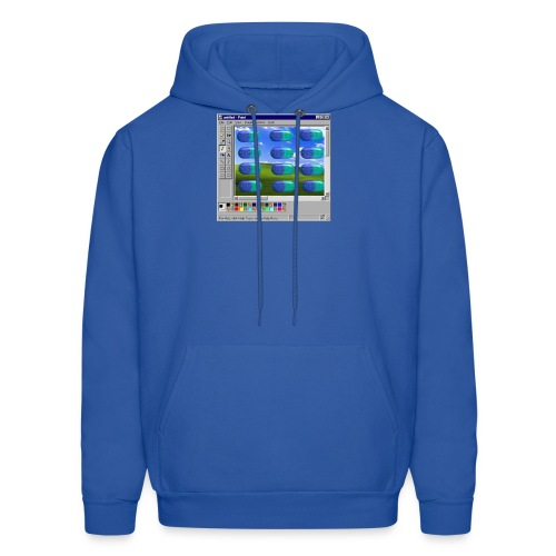 Desire windows xp paint edition - Men's Hoodie
