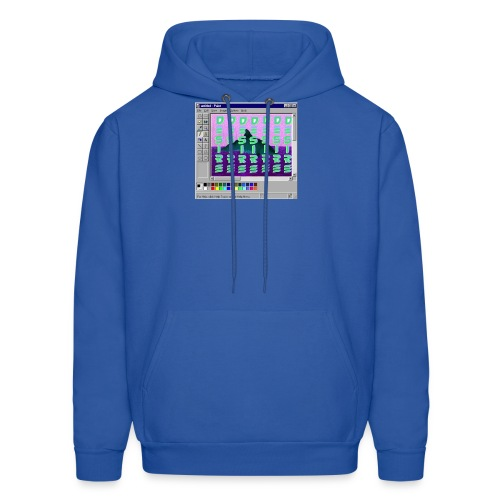 Desire windows xp paint whale edition - Men's Hoodie