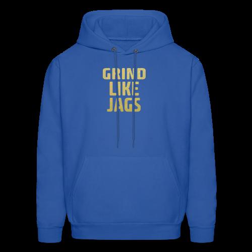 GrindLike Jags Logo - Men's Hoodie