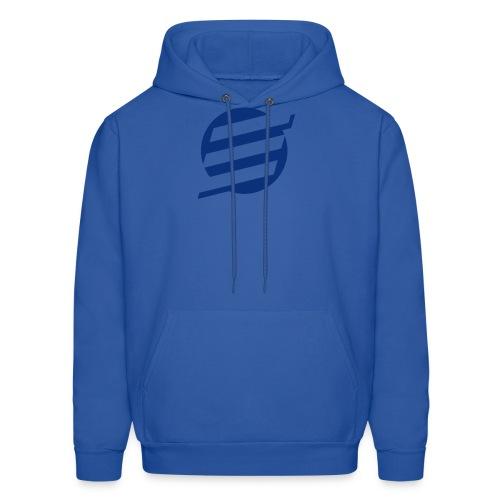 E Logo - Men's Hoodie