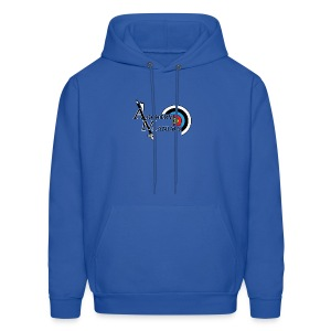 Archery Maniacs White Outline - Men's Hoodie