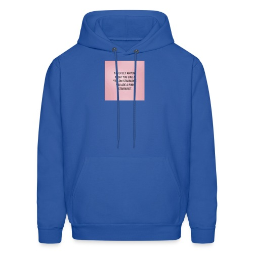 Inspirational quote - Men's Hoodie