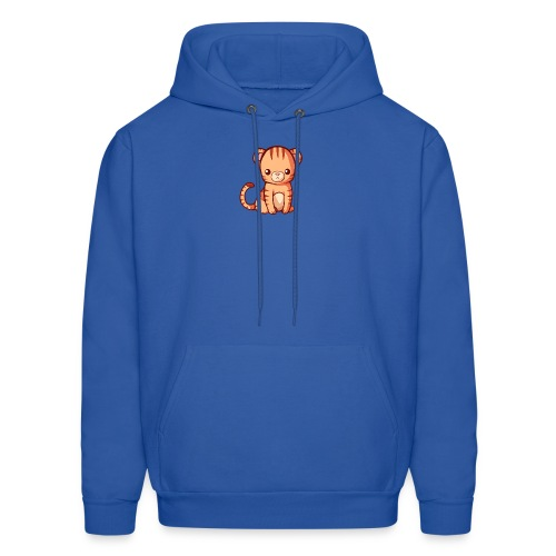 BlehhhhNation Tiger Kawaii - Men's Hoodie