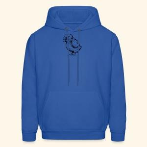 13292511551930773655Baby Chick Drawing svg hi - Men's Hoodie