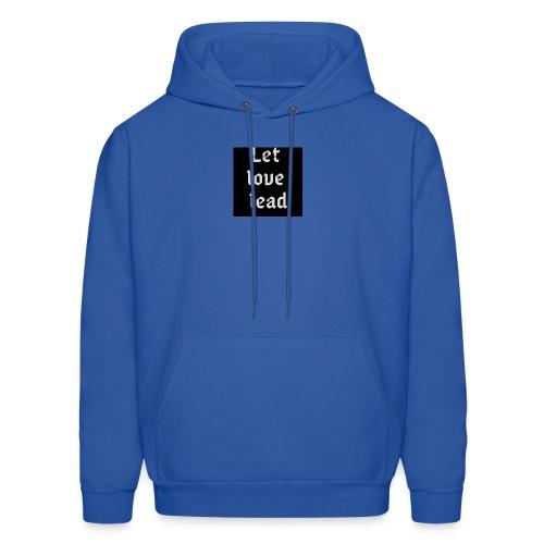 let love lead2 - Men's Hoodie
