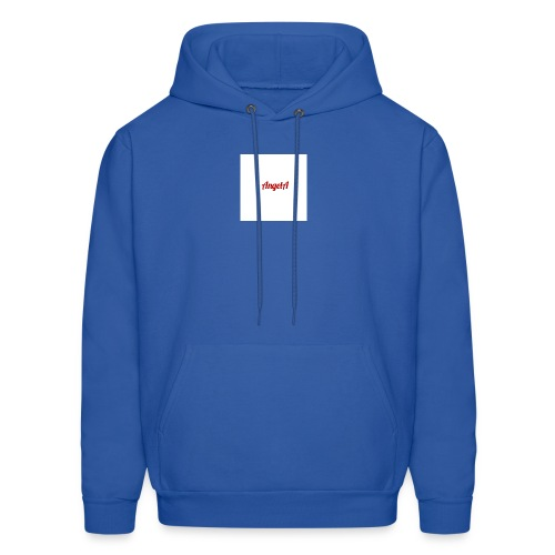 withe A - Men's Hoodie