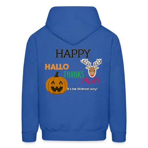 HAPPY HALLO-THANKS-MAS - Men's Hoodie