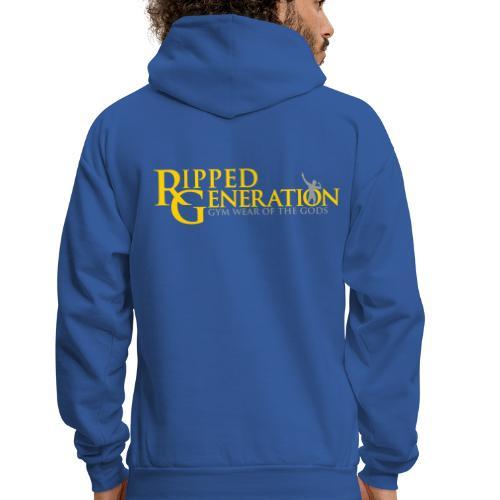 Ripped Generation Logo Gold - Men's Hoodie