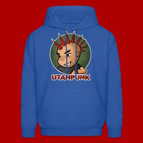 Utahpunk Logo Outline - Men's Hoodie