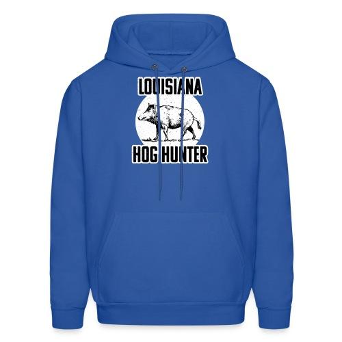 Lousiana Hog Hunting Wild Hog Hunter T-s - Men's Hoodie