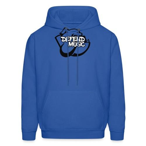 Defend Music mascot Hoodie - Men's Hoodie