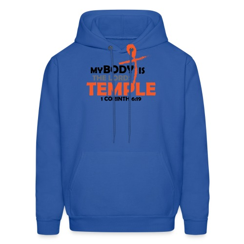 My body/Lords Temple - Men's Hoodie
