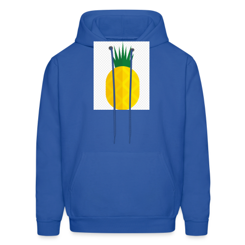 Pixel looking Pineapple - Men's Hoodie