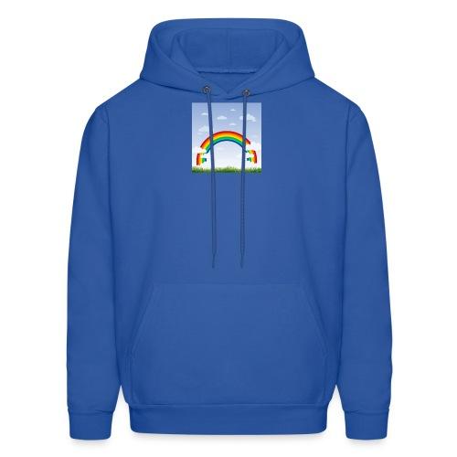 Sky Rainbow - Men's Hoodie