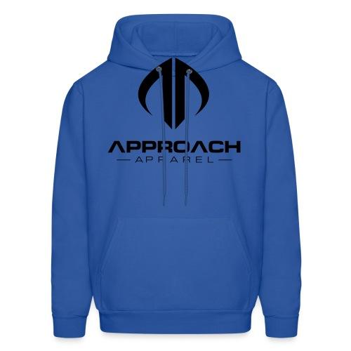 Approach Apparel Athletic Hoodie Shirt- Black Logo - Men's Hoodie