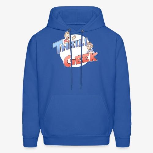 ThrillGeek Podcast Logo Shirt - Men's Hoodie